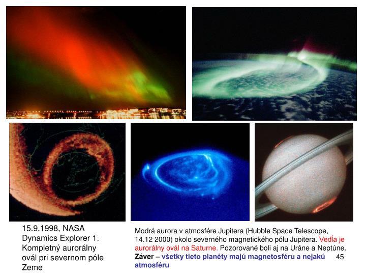 15.9.1998, NASA