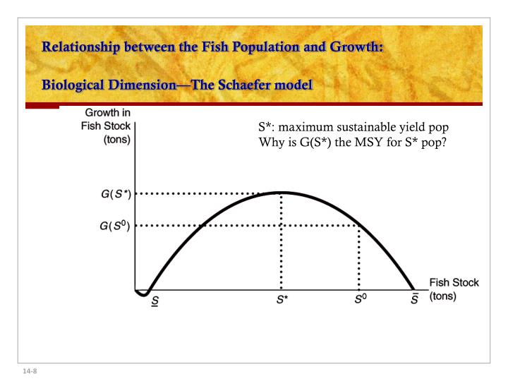 Relationship between the Fish Population and Growth: