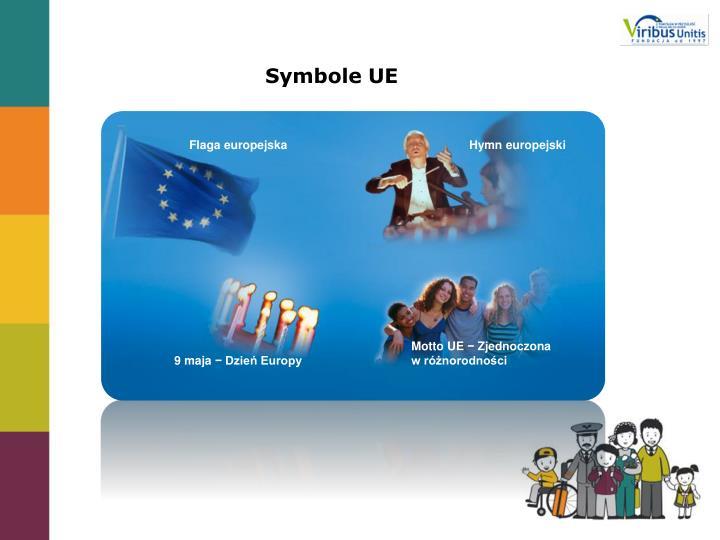 Symbole UE