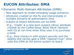 eucon attributes dma