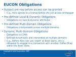 eucon obligations