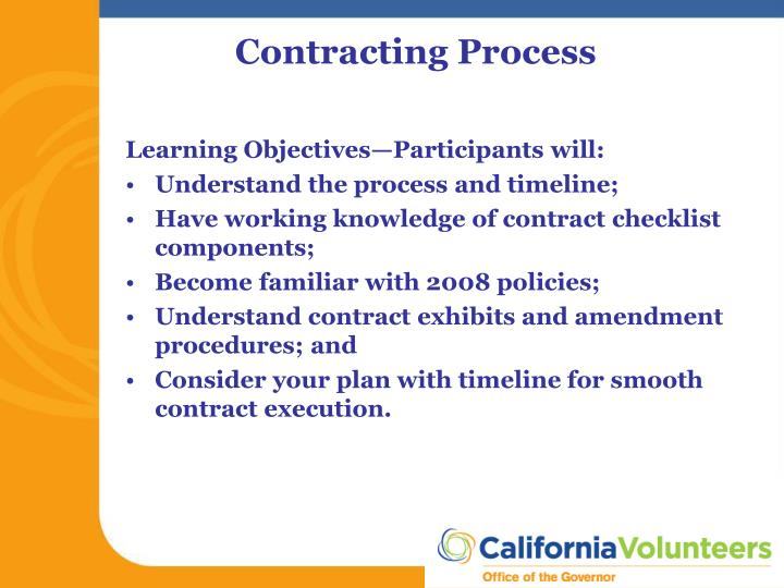 Learning Objectives—Participants will: