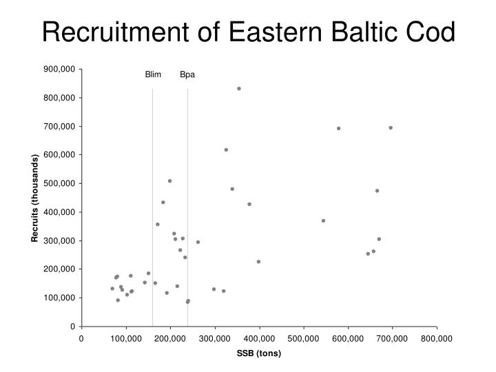 Recruitment of Eastern Baltic Cod