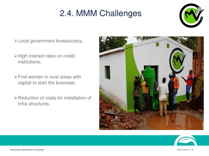 2.4. MMM Challenges