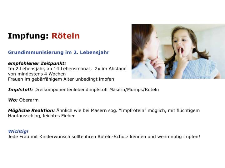 Impfung: