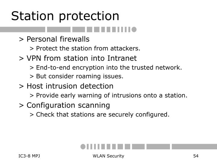Station protection