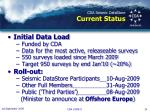 cda seismic datastore current status