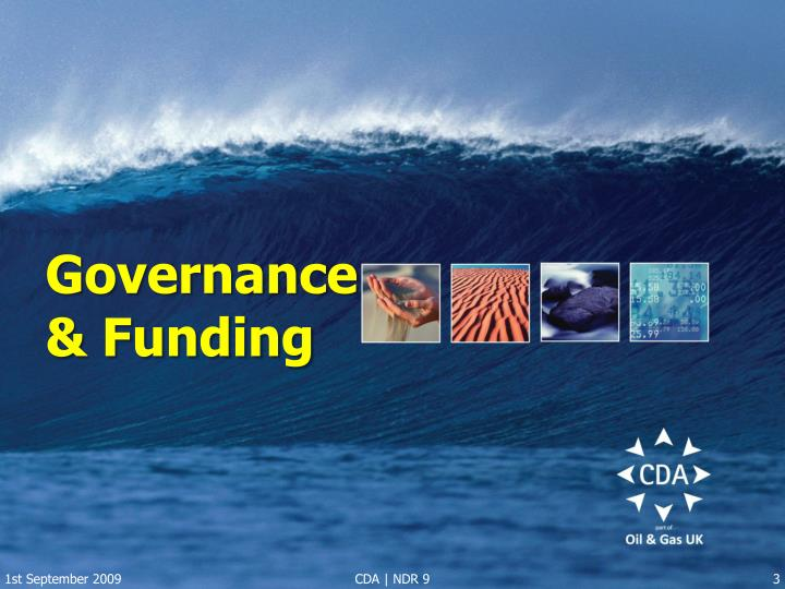 Governance funding