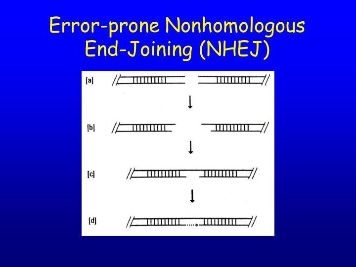 Error-prone