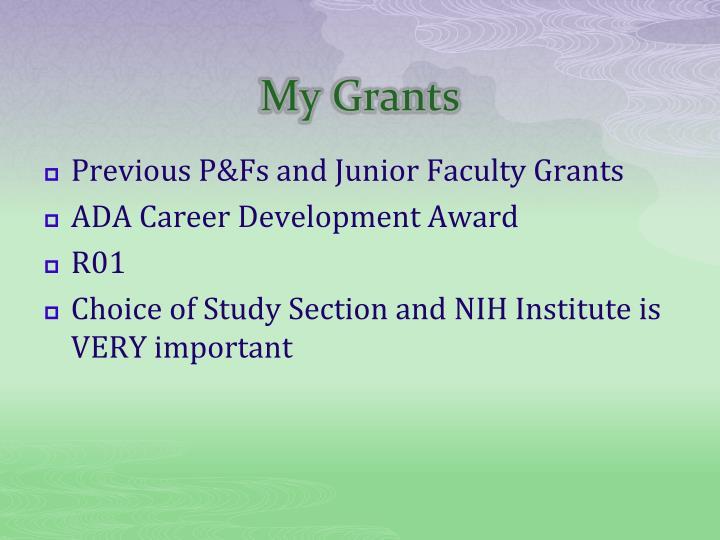 My Grants