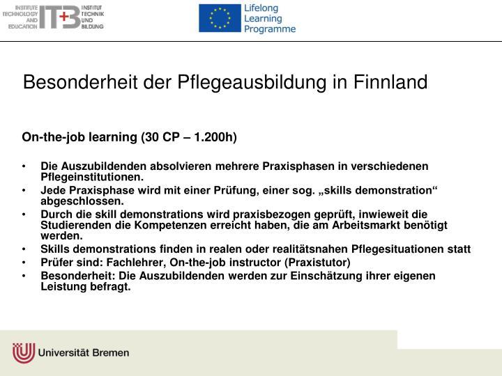 Besonderheit der Pflegeausbildung in Finnland