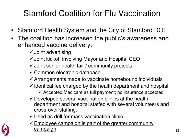 Stamford Coalition for Flu Vaccination