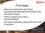 first steps1