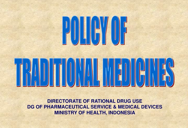 POLICY OF