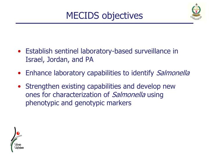 MECIDS objectives