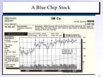 a blue chip stock