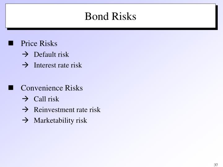 Bond Risks
