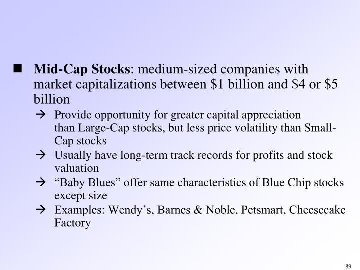 Mid-Cap Stocks