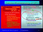complex phenomenology of cptv3
