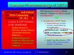 complex phenomenology of cptv5