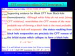 cpt symmetry without cpt invariance1