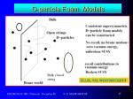 d particle foam models