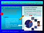 dark energy cosmological cptv