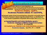 order of magnitude estimates16