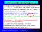 order of magnitude estimates2