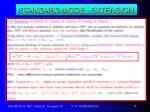 standard model extension