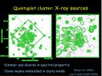 quintuplet cluster x ray sources