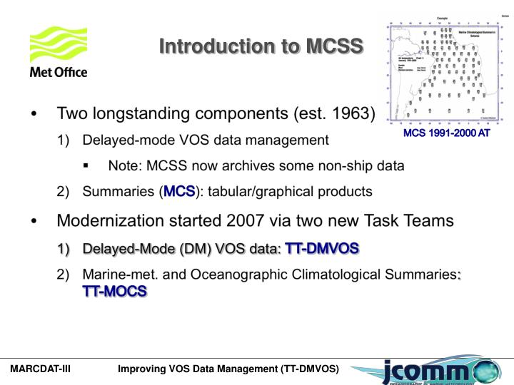 Introduction to MCSS