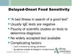 delayed onset food sensitivity1