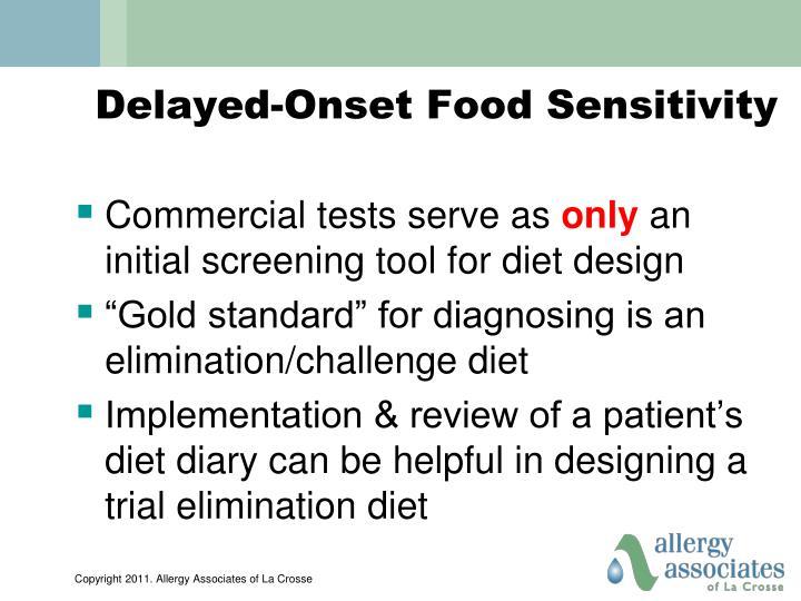 Delayed-Onset Food Sensitivity
