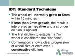 idt standard technique2