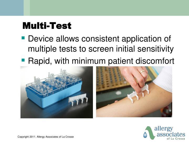 Multi-Test
