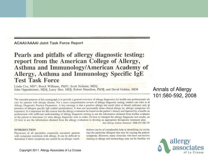 Annals of Allergy