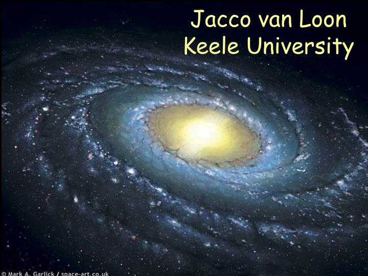 Jacco van loon keele university