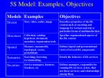 5s model examples objectives