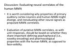discussion evaluating neural correlates of the human mmn