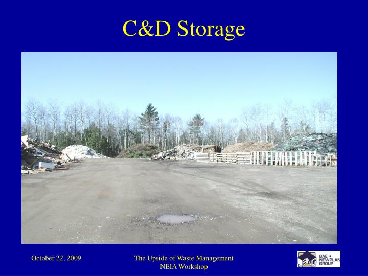 C&D Storage