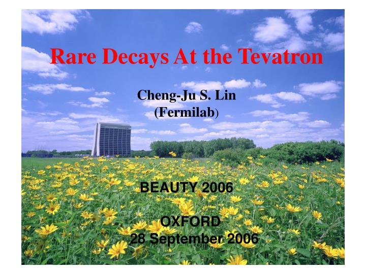 Rare Decays At the Tevatron