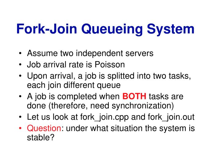Fork-Join Queueing System