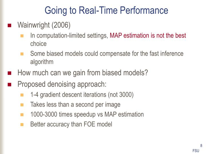 Going to Real-Time Performance