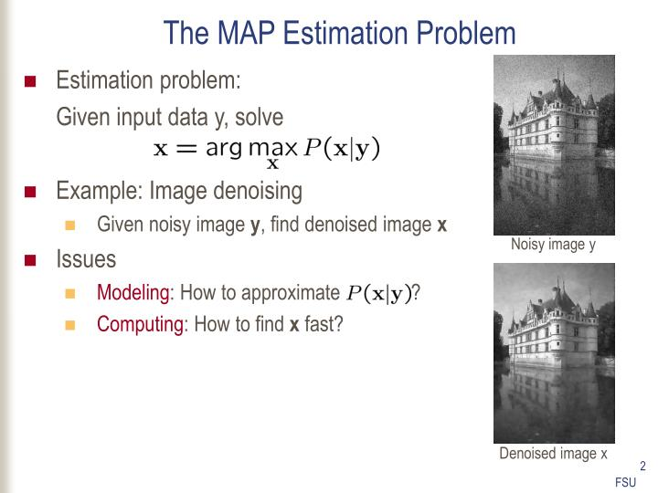 The map estimation problem