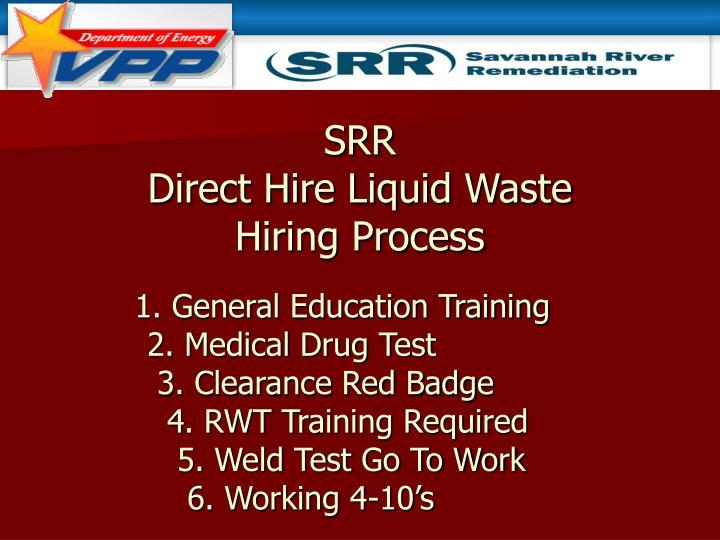 Direct Hire Liquid Waste