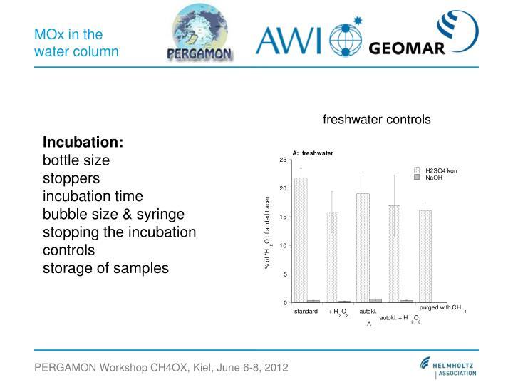 freshwater controls