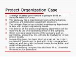 project organization case2