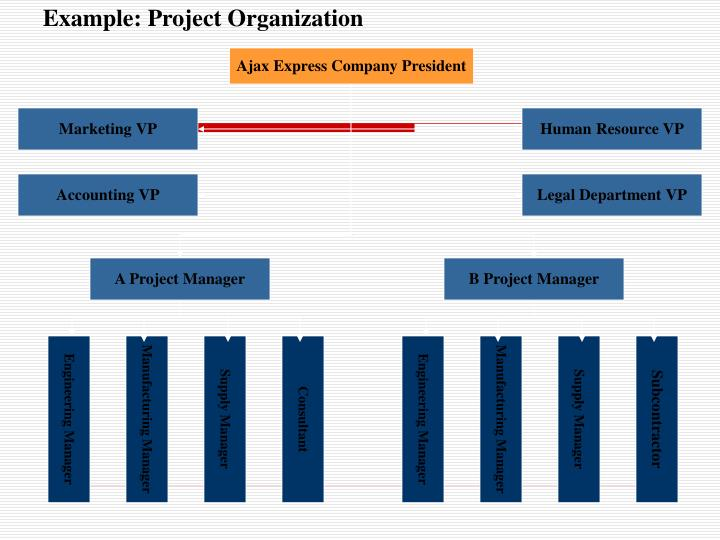Example: Project Organization