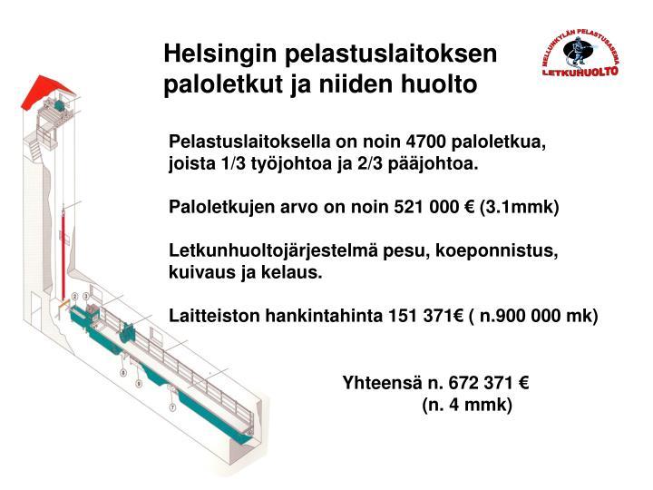 Helsingin pelastuslaitoksen